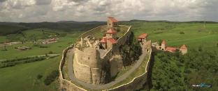 aerial-cetatea-rupea-fortress-romania